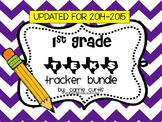 1st Grade TEKS Tracker Pack