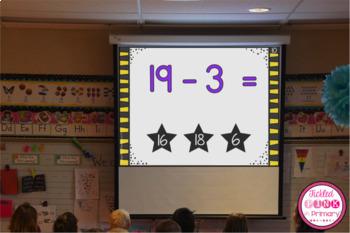 1st Grade Math Task Cards (Digital & Printable)