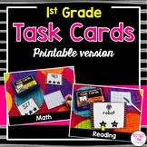 1st Grade Task Cards (printable version)