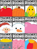 1st Grade Teachers Taking Back Their Weekends BUNDLED