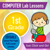 1st Grade Technology Lesson Plans and Activities 1 Year Subscription