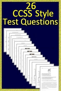 1st Grade Test Prep Practice for Reading Comprehension Passages and  Questions
