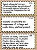 1st Grade Texas TEKS Social Studies Learning Objectives Cards Polka Dots