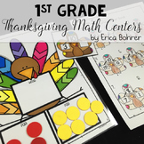 Thanksgiving Math Centers: 1st Grade
