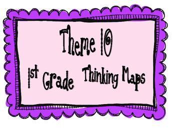 1st Grade, Theme 10 Literacy By Design Graphic Organizers