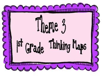 1st Grade, Theme 3 Literacy By Design Graphic Organizers