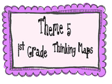 1st Grade, Theme 5 Literacy By Design Graphic Organizers