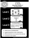 1st Grade Tic-Tac-Toe 1.5B- Skip Counting