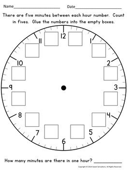 Telling Time to the Hour and Half Hour Bundle
