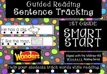 1st Grade *Tracking Sentences* Wonders Aligned Smart Start