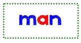 1st Grade Treasures Reading - Unit 1 Spelling Word Flashcards