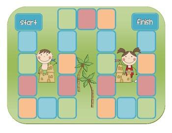 1st Grade Treasures Sandcastle Comprehension Game