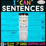 1st Grade Types of Sentences, Complete Sentences, Expandin