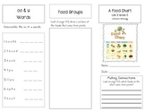 1st Grade UNIT 3 WEEK 5- From Farm to Table:Brochure McGraw Hill Reading Wonders