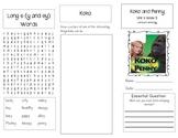 1st Grade UNIT 4 WEEK 5- Working with Animals:Brochure Bun