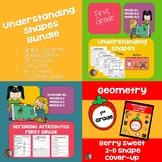 1st Grade Geometry: Understanding Shapes Bundle