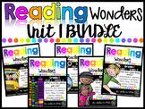 1st Grade Unit 1 Wonders BUNDLE (Supplemental Resources)