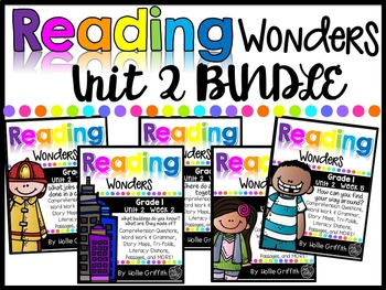 1st Grade Unit 2 Wonders BUNDLE