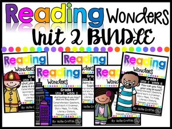 1st Grade Unit 2 Wonders BUNDLE