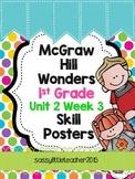 1st Grade Unit 2 Week 3 Skill Posters