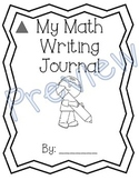 1st Grade Unit 3 Math Expressions Writing Journals