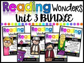 1st Grade Unit 3 Reading Wonders BUNDLE