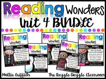 1st Grade Unit 4 Reading Wonders BUNDLE