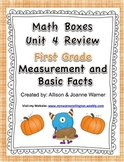 1st Grade Unit 4 Review Everyday Math ~ Measurement and Basic Facts