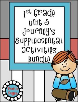 1st Grade Unit 5 Journey's Supplemental Activities