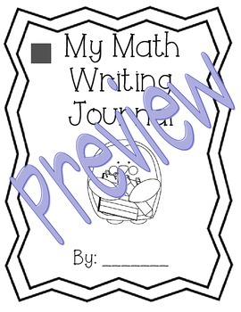 1st Grade Unit 6 Math Expressions Writing Journals