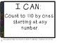 1st Grade VIRGINIA Math I CAN Statements