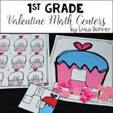 1st Grade Valentine Math Centers