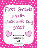 1st Grade Valentine's Day Math Scoot