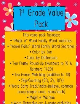 1st Grade Value Pack