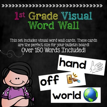 Visual Word Wall (1st grade)