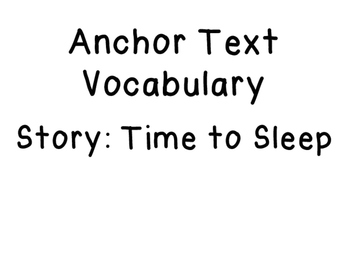 1st Grade Vocabulary Cards ReadyGEN Unit 1 Module B