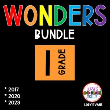 1st Grade WONDER BUNDLE