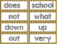 High Frequency Word Wall 1st Grade WONDERS