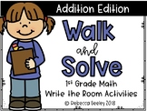 1st Grade- Walk and Solve: Addition Edition