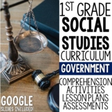 1st Grade Social Studies - Rules & Laws (MC3 Compatible)