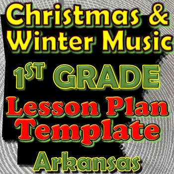 1st Grade Winter Holidays Christmas Unit Lesson Plan Templ