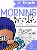 1st Grade Winter Morning Work