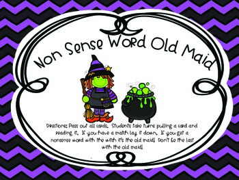 1st Grade- Witch's Brew- Small Group Centers