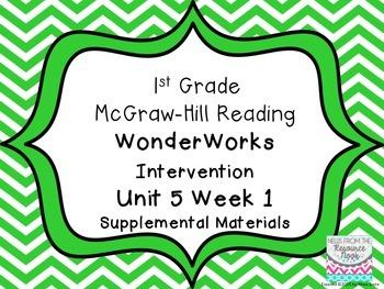 1st Grade WonderWorks Supplement -Unit 5 Week 1