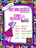1st Grade Wonders (2014) - Unit 6 Bundle