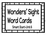 1st Grade Wonders Sight Word Cards