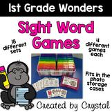1st Grade Wonders Sight Word Games