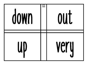 1st Grade Wonders Sight Words