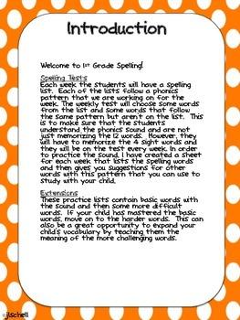 1st Grade Wonders Spelling Handbook Unit 1