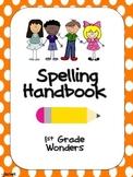 1st Grade Wonders Spelling Handbook Units 1-6